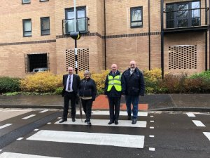 New Zebra Crossing for Little Paxton