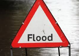Flood Alert- Mill Lane Bridge, Little Paxton